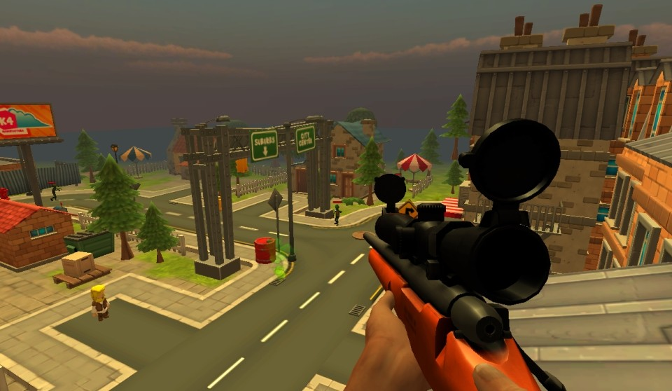 Image Zombie Town Sniper Shooting