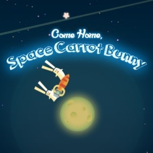 Come Home Space Carrot Bunny