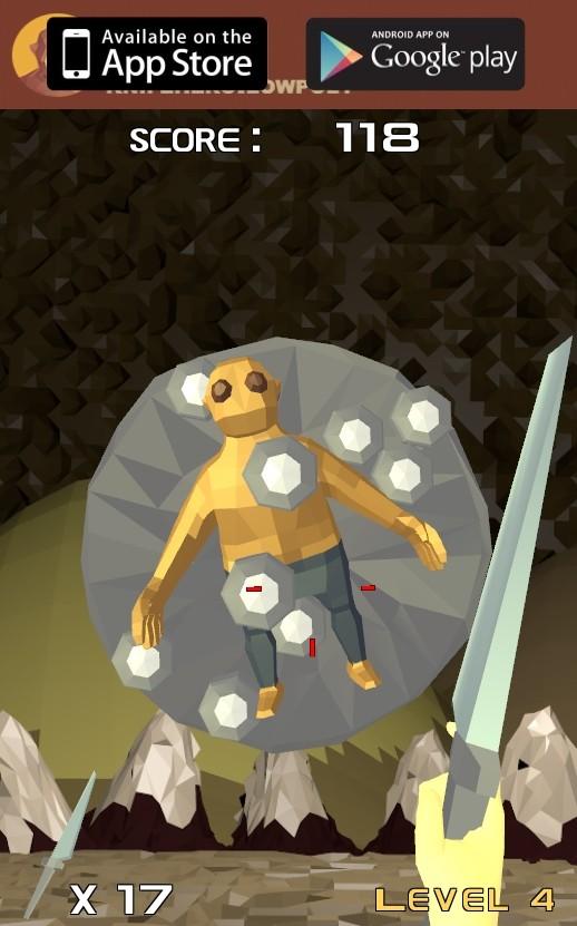 Image Low Poly Knife Hero