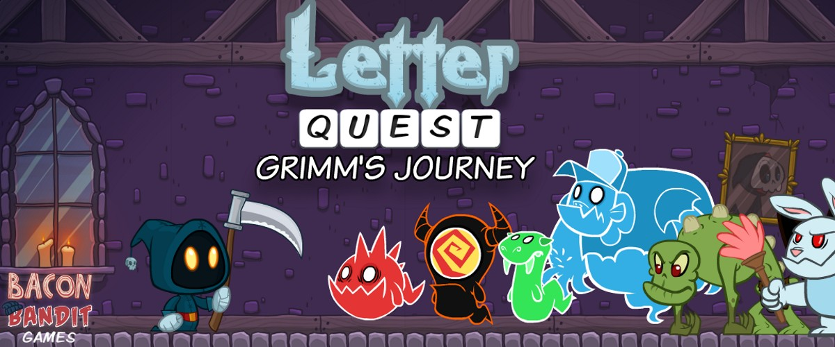 Image Letter Quest: Grimm's Journey