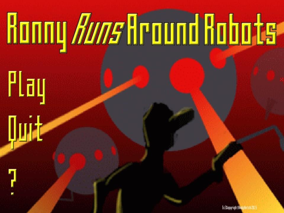 Image Ronny Runs Around Robots