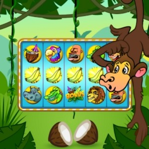 Monkey Slot Machine Mania