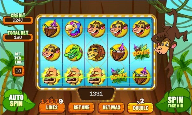 Monkey Slot Machine Game