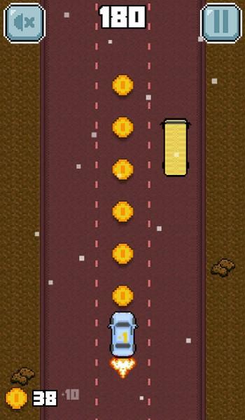 Image Traffic Rush : Retro Racing