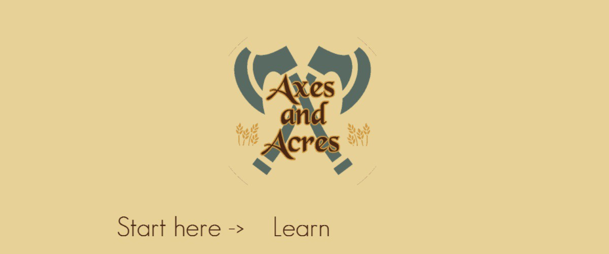Image Axes and Acres Demo