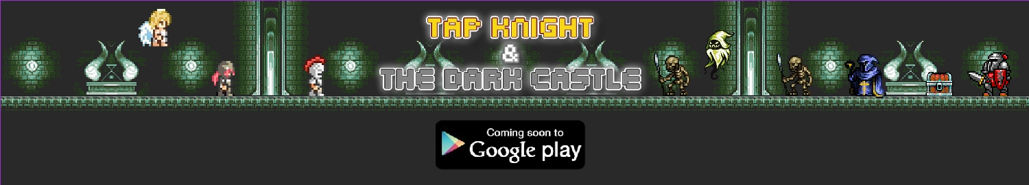 Tap Knight and the Dark Castle is a tapping RPG game that continues the story of its prequel; Tales of Clicker Knights RPG