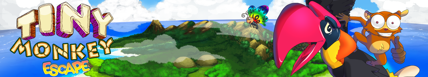 Tiny Monkey Escape header banner