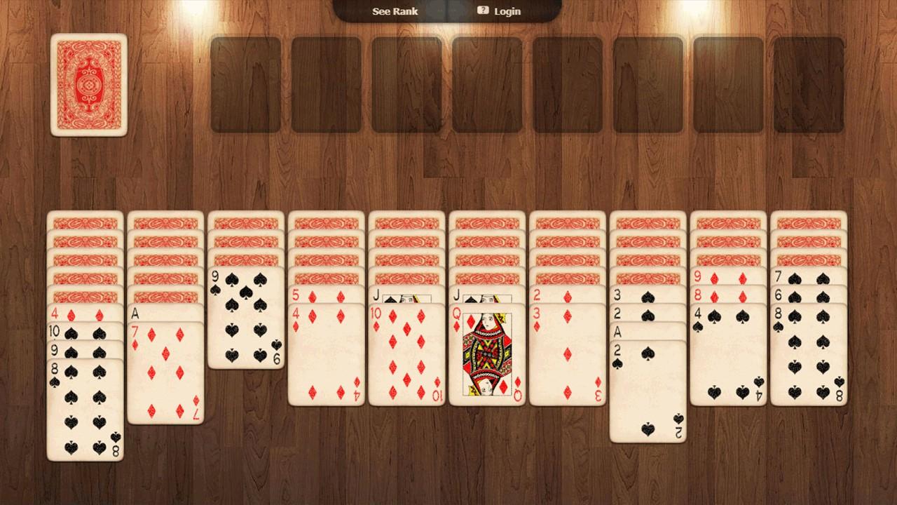 online spider solitaire