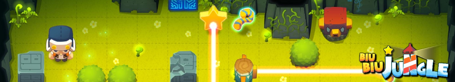 BiuBiu Jungle is a premium puzzle game about a star-keeper's adventure to collect stars to save his island from sinking.