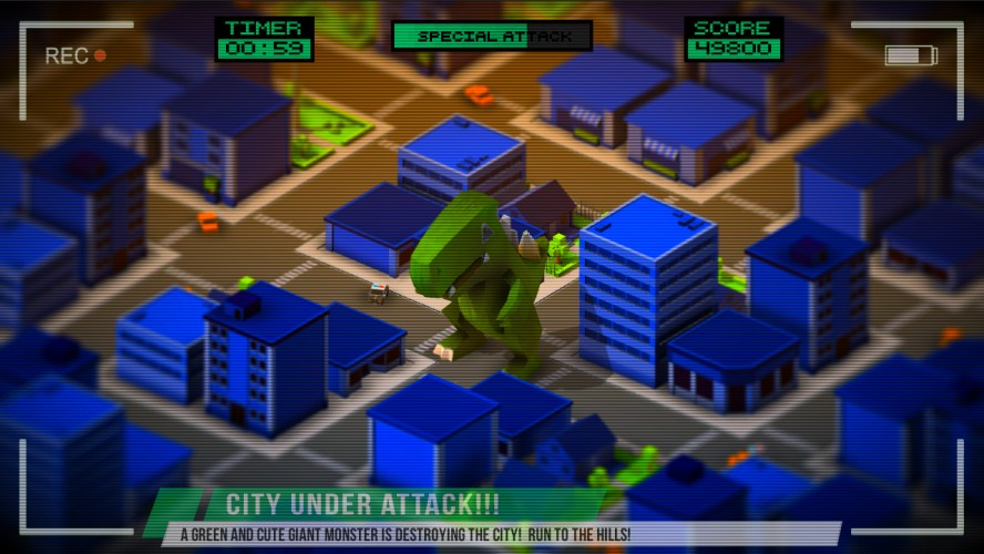 Image CuteZilla Game