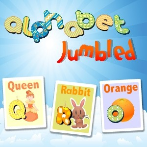 Alphabet Jumbled Cards