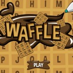 Waffle Word Game