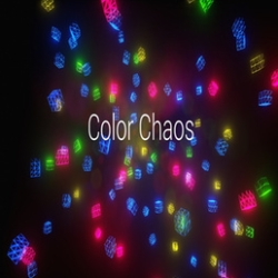 Color Chaos is a very colorful neon theme arcade shooter game.