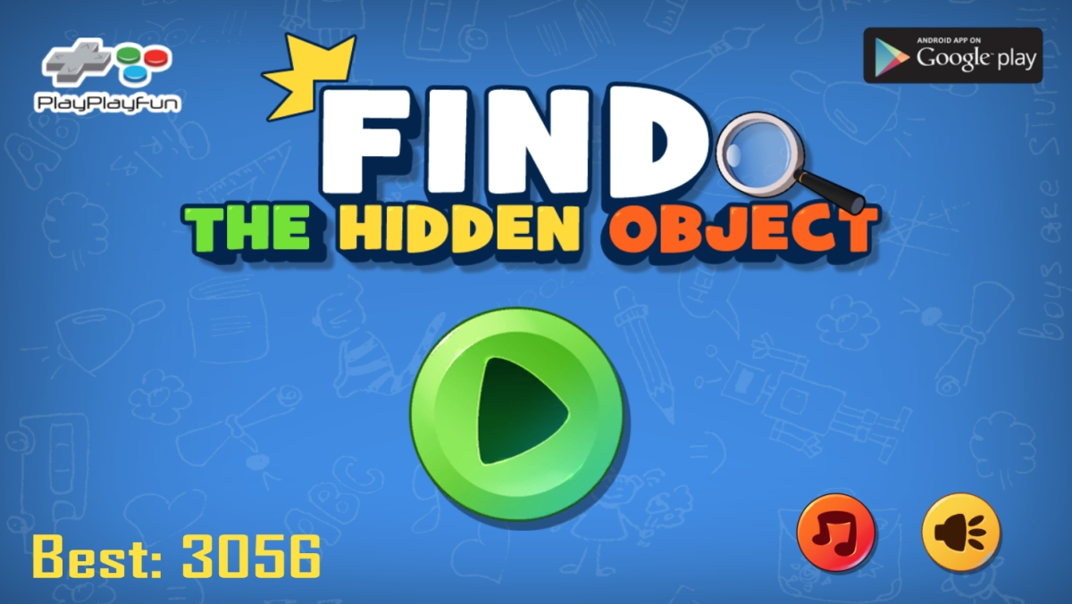 Image Find the Hidden Object game