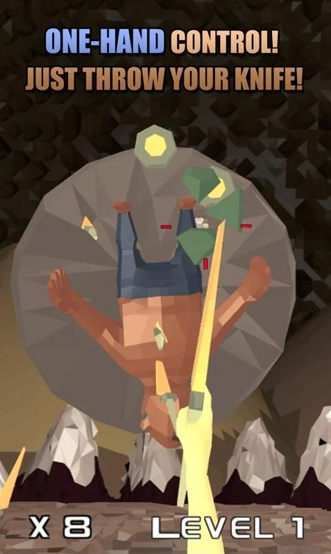 Image Low Poly Knife Hero