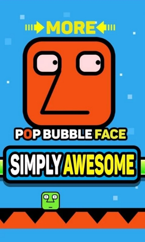 Image Pop Bubble Face