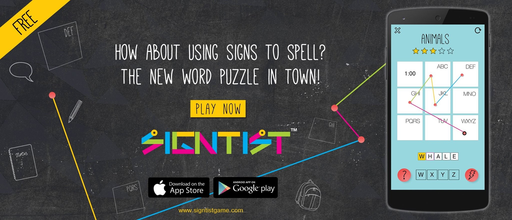 Image Signtist New Word Puzzle Demo