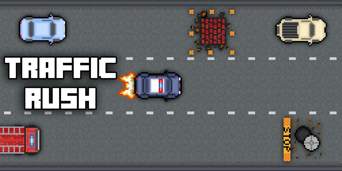 Image Traffic Rush : Retro Racing