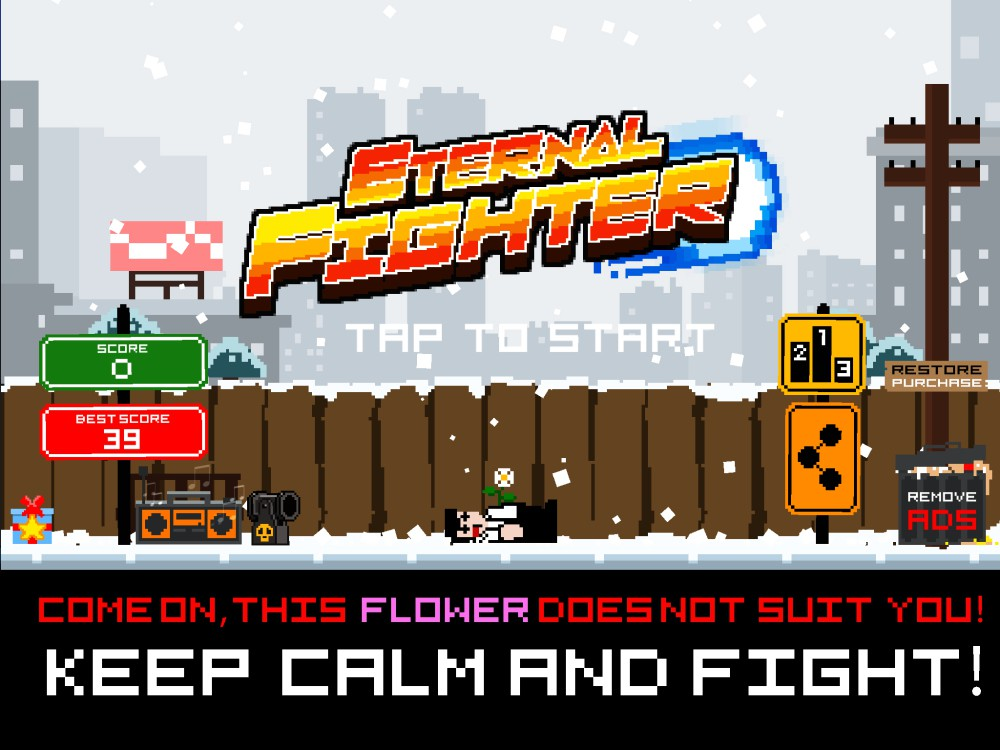 Image Eternal Fighter Demo