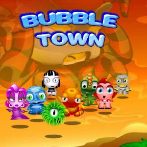 bubble town free on line
