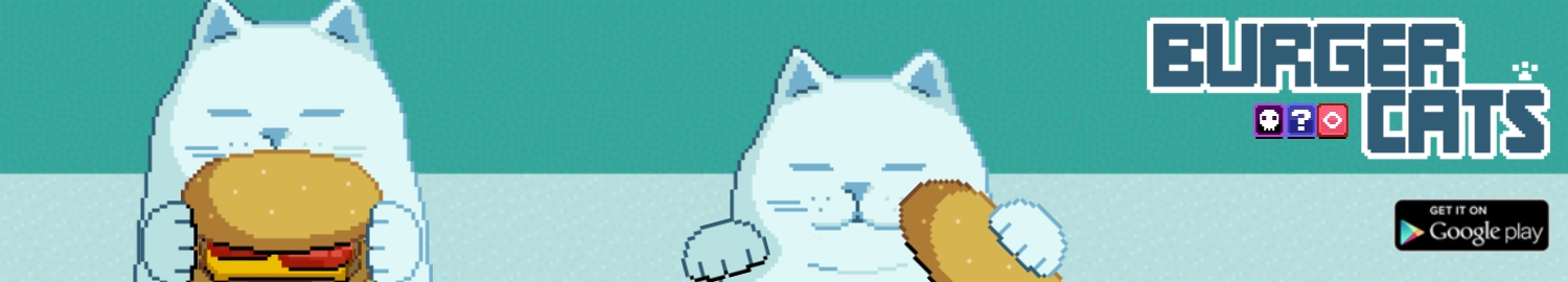 Burger Cats is an upcoming timing-based game in collaboration between playplayfun and jeff.cl