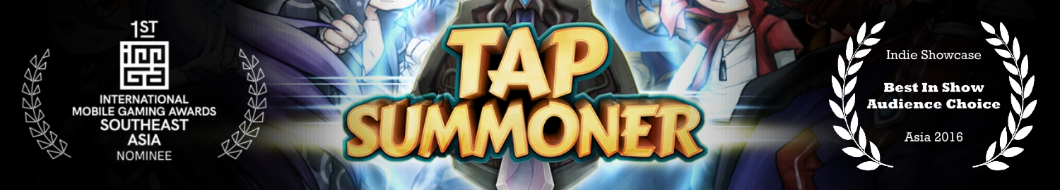 Tap Summoner is a mobile RPG Tower Offense  action card battle game with a real-time fast paced tapping combat!