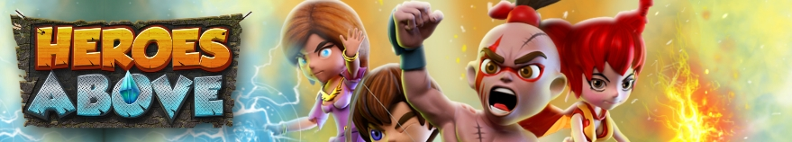 Heroes Above Sky Clash is a real-time strategy game that incorporates tower-defense element