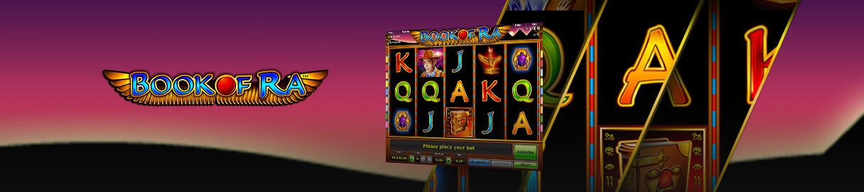 Book of Ra is a classic slot game and it is one of the best slots made in history
