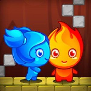 Fireboy and Watergirl is a chilly game with dual gameplay