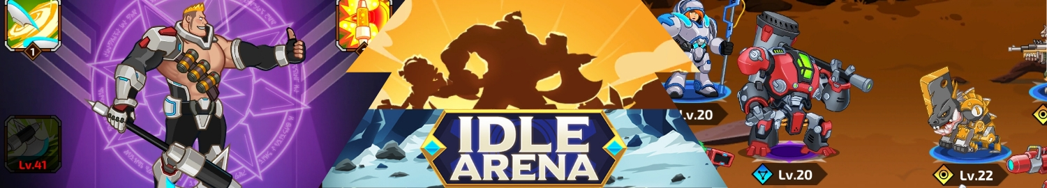Idle Arena is a futuristic idle RPG game with exciting gameplay and lots of loots
