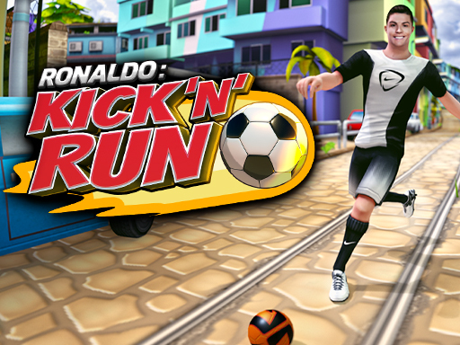 Cristiano Ronaldo: Kick'n'Run – Football Runner