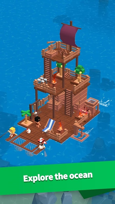 Image Idle Arks: Sail and Build