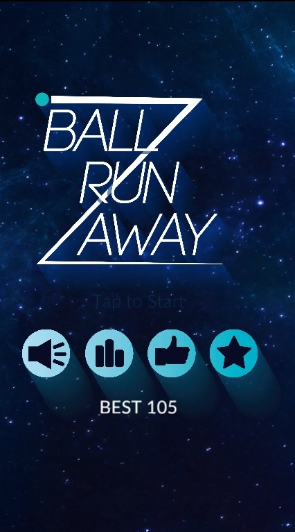 Image Ball Run Away