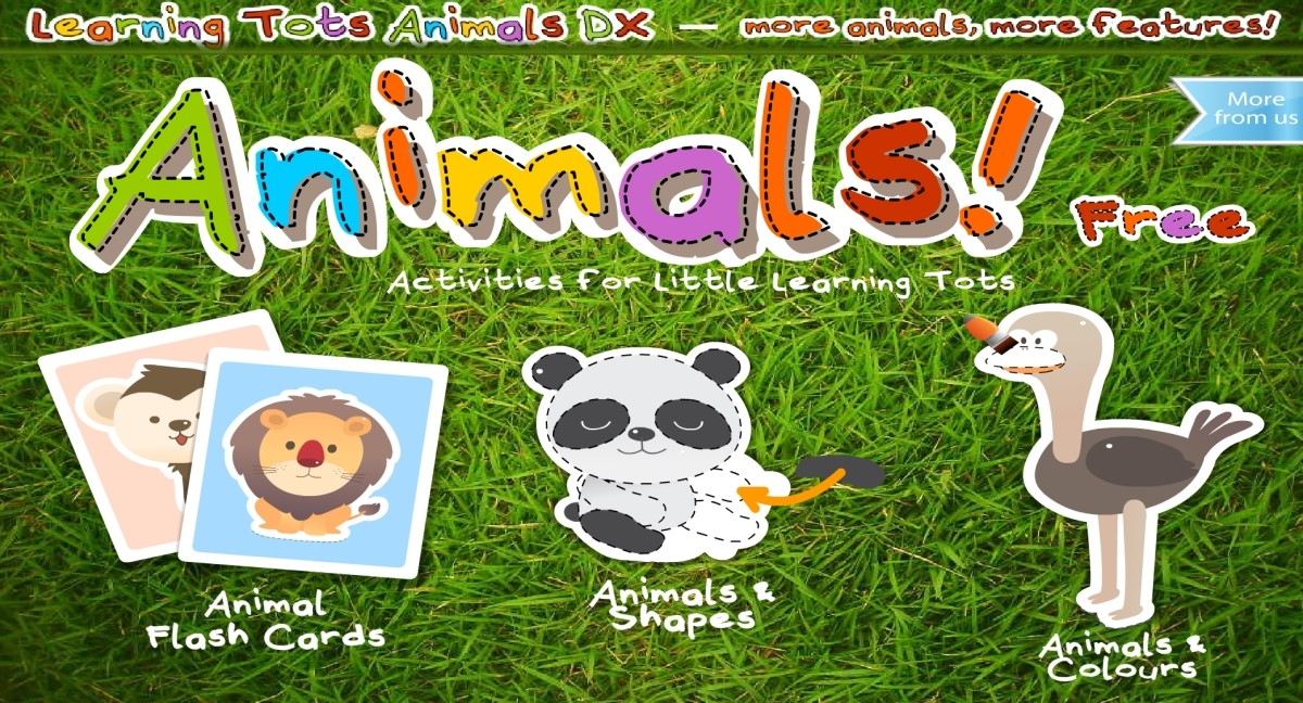 Image Learning Tots Animals