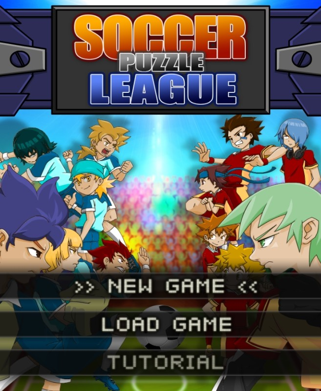 Image Soccer Puzzle League