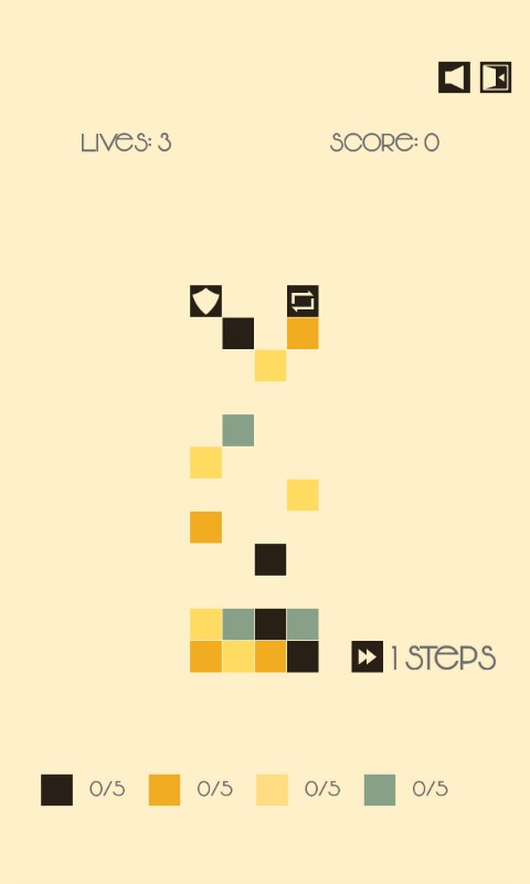 Image Steps Puzzle Game